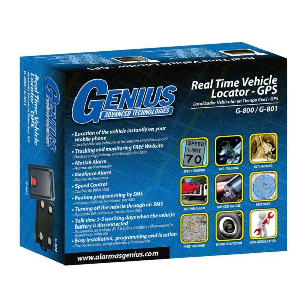 GPS Empaque G801